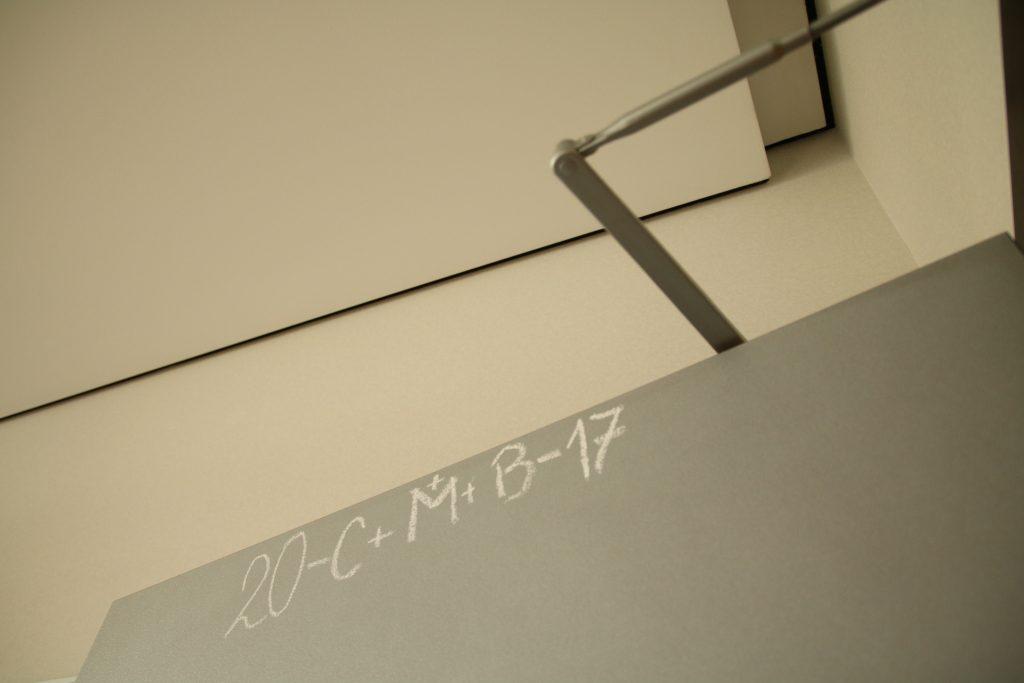 Türe im Büro von Ulrike Lunacek